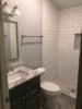 Plainfield Home- Mold Remediation and Complete Refinish - Bath